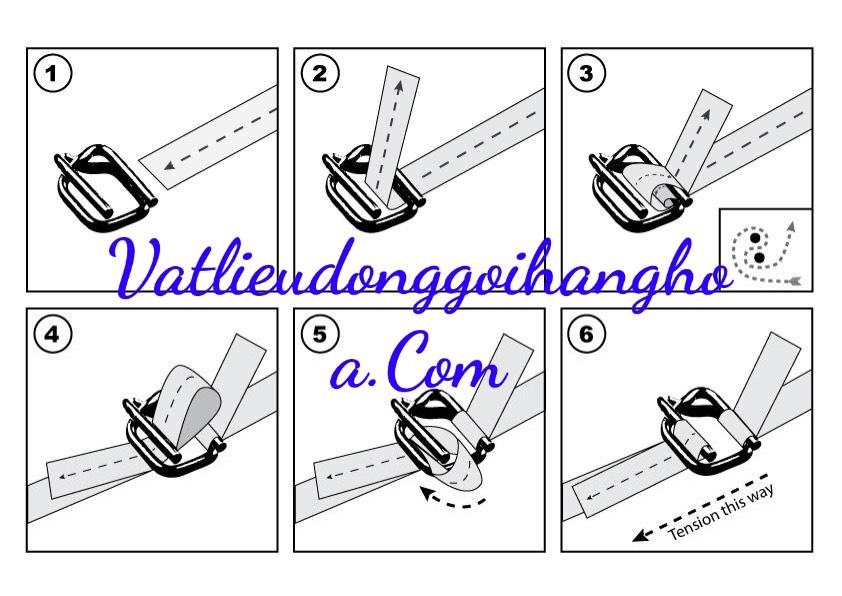 Hướng dẫn sử dung dây đai Composite